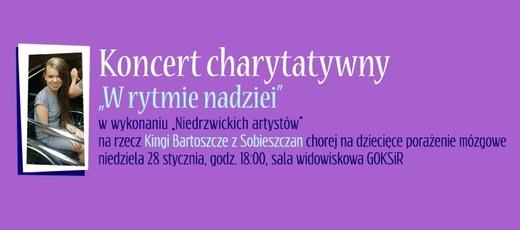 Koncert charytatywny 'W rytmie nadziei' - 28.01.2018