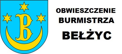 Obwieszczenie Burmistrza Bełżyc z 29 maja 2018 r.