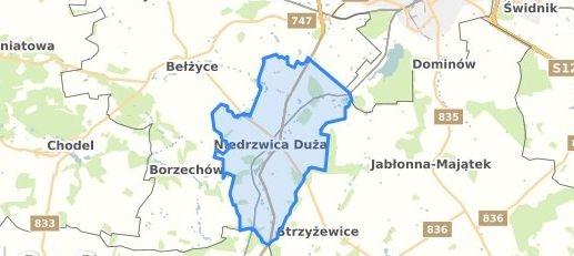 Obwieszczenie o wyłożeniu do publicznego wglądu projektu zmiany miejscowego planu zagospodarowania przestrzennego rejonu turystyczno – wypoczynkowego Krężnica Jara, Gmina Niedrzwica Duża, część IIIA z dnia 14.06.2019 r.