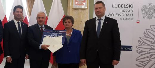 Dofinansowanie na drogi dla Gminy Niedrzwica Duża w 2019 r.