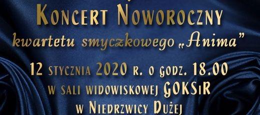 Koncert Noworoczny kwartetu smyczkowego