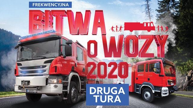 Wóz strażacki dla gminy z największą frekwencją wyborczą