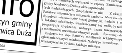 Biuletyn Info Wydanie Grudzień 2008